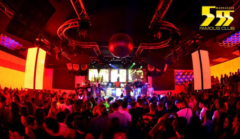 555 Famous Club - Marrakech Bars